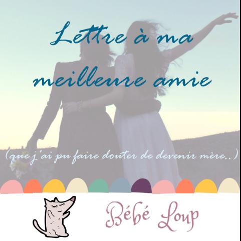 instagram lettre à ma meilleure amie